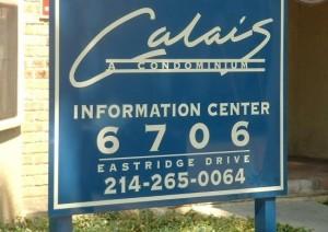 Calais Apartment Entrance