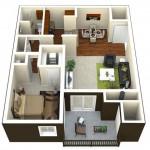 Camden Glen Lakes Apartment Floor Plan