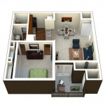 Camden Glen Lakes Apartment Floor Plan