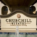 Churchill Estates at Lake Highland Apartment Community Sign