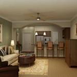 Churchill Estates at Lake Highland Apartment Living Area