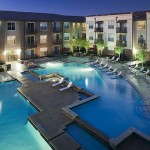 City North Apartment Pool View
