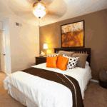 City Scape Apartment Bedroom