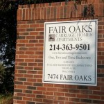 Fair Oaks Carriage Homes Apartment Entrance