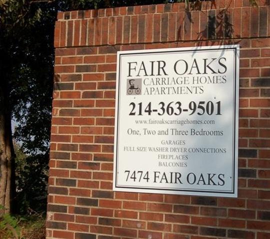 Fair Oaks Carriage Homes Apartment Entrance Apartment In