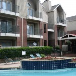 Highland House Condos Apartment Pool Area