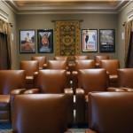 Montclair Apartment Theater Room