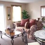 Northridge Townhomes Apartment Living Area