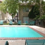 Northridge Townhomes Apartment Pool Area