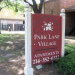 Park Lane Village Apartment Entrance
