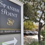 Spanish Point Apartment Entrance