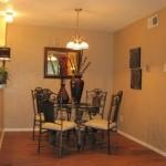 The Arbors Apartment Dining Area