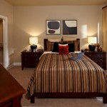 The District at Greenville Apartment Bed Room