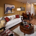 The District at Greenville Apartment Family Room