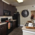 The District at Greenville Apartment Kitchen