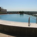 The Heights At Park Lane Tower Apartment Pool View