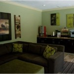 4343 at the Parkway Apartment Living Area