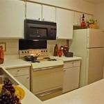 Bear Creek Apartment Kitchen.