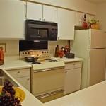Bear Creek Apartment Kitchen.