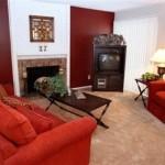 Bear Creek Apartment Living Room