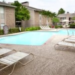 Bear Creek Apartment Pool Area
