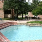 Berry Trail Condominiums Apartment Pool Area.