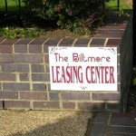 Biltmore Apartment Community Sign