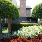 Camden Springs Apartment Community Sign