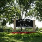 Camino Real I & II Apartments Community Sign