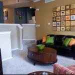 Carriage Homes of Signature Place Apartment Living Room