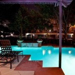 Carriage Homes of Signature Place Apartment Pool View
