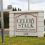 Celery Stalk Apartment Community Sign