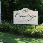 Crossings on Marsh Apartment Community Sign