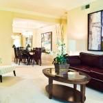 Dorchester Apartment Living Area.