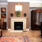 Drexel Park Hollow Apartment Fireplace