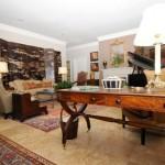 Drexel Park Hollow Apartment Living Room.