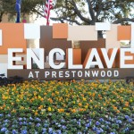 Enclave at Prestonwood Apartment Entrance