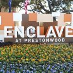 Enclave at Prestonwood Apartment Entrance