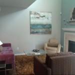 Enclave at Prestonwood Apartment Living Area.