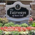 Fairways of Bent Tree Apartment Entrance