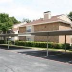 Fairways of Bent Tree Apartment Parking Area