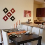Gramercy on the Park Apartment Dining Area