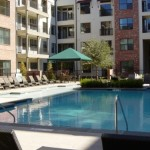 Gramercy on the Park Apartment Pool Area