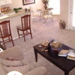 Grand Seasons Apartment Dining Room