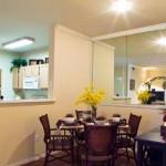 Kensington Square I & II Apartment Dining Area