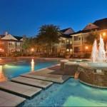 La Salle Apartment Pool Area