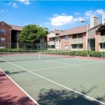 Lincoln Crossing Apartment Tennis Court