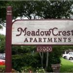 Meadowcrest Apartment Entrance
