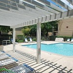 Meadowcrest Apartment Pool Area