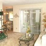 Oak Run Apartment Living Area
